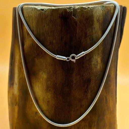16 Inch Handmade 925 Sterling Silver  Snake  Chain