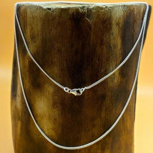 18 Inch Handmade 925 Sterling Silver Ball Chain