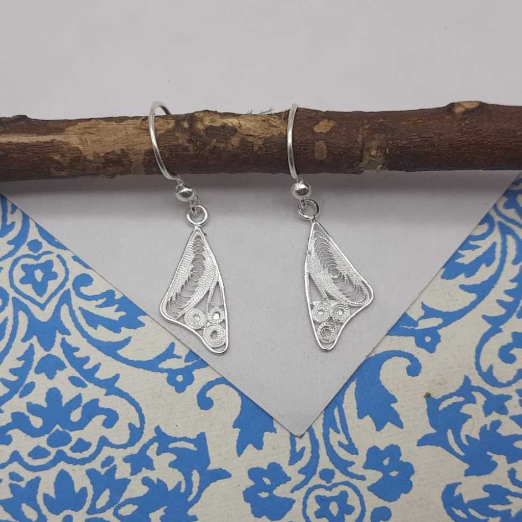925 Sterling Silver Minimalistic Designer Hot Selling Earring