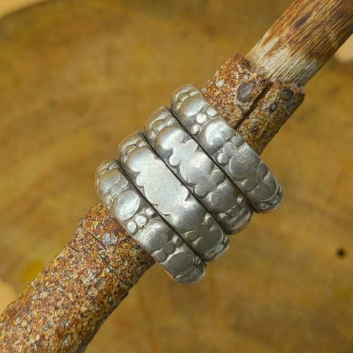 925 Sterling Silver Tribal Spiral Oxidized Traditional Celtic Ring