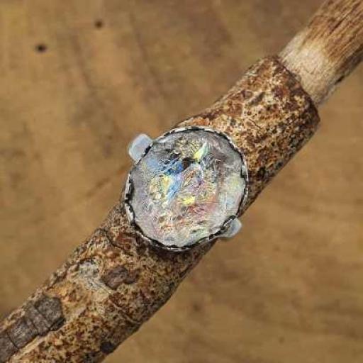 Raw Crystal Gemstone Handmade 925 Silver Bohemian Designer Ring